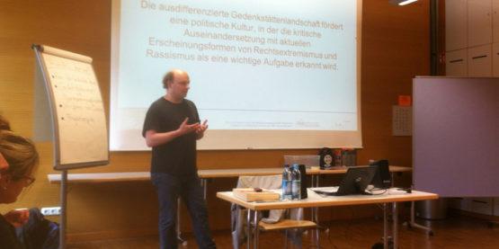 """Workshop """"Nie wieder!"""" ...aber wie? Zur (Nicht-) Bedeutung des Nationalsozialismus in der Rechtsextremismusprävention"""