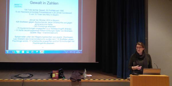 Bericht zum Vortrag von Andrea Röpke